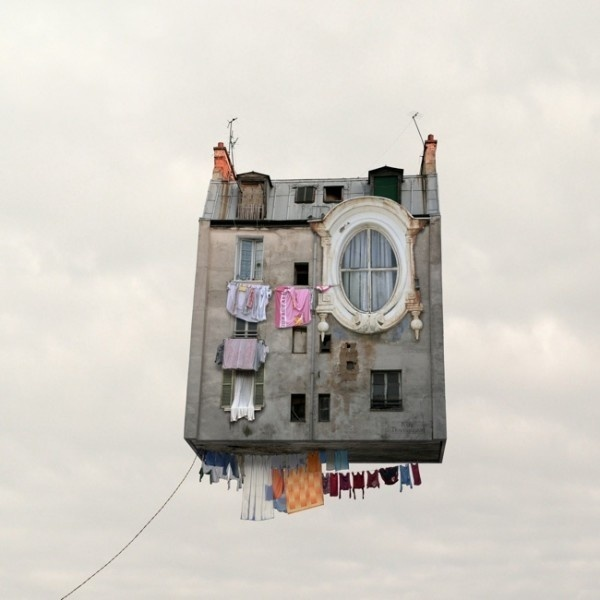 Flying Houses Laurent Chehere #brilliant