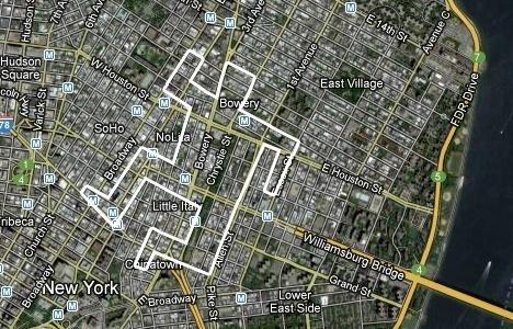 Google & Bing Map Marking | Mainual #mark #creativity #street #google #maps #crime
