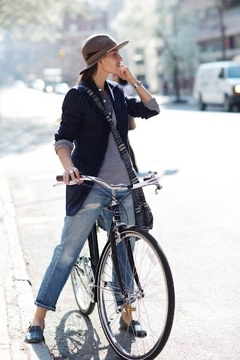 JJJJound #woman #bike