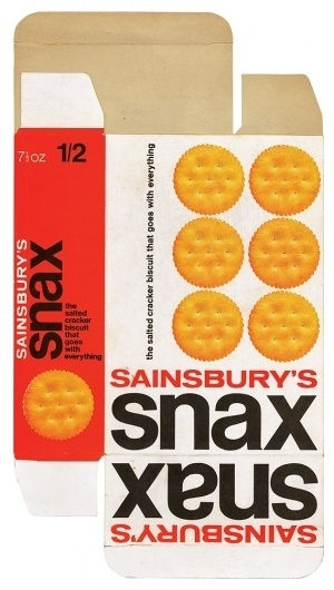 Creative Review - When Sainsbury's was out on its own #packaging #design #vintage #typography
