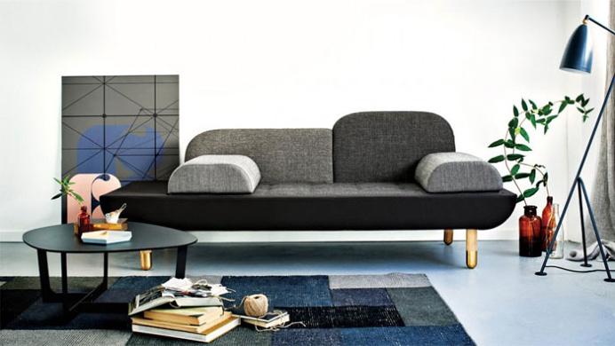 Light Gray Sofa - #design, #furniture, #modernfurniture