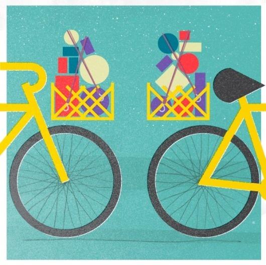 Gavin Potenza - Illustration and Design #bike #poster