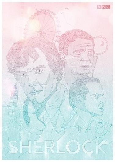 483557_267765856639317_158435914238979_626757_1469622493_n.jpg (imagen JPEG, 512 × 720 píxeles) #sherlock #movie #vector #bbc #london #color #poster #film #man #character