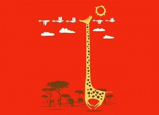 #illustration #tshirt #imlikeabird