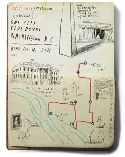Oliver Jeffers - Illustration #illustration #lettering #map