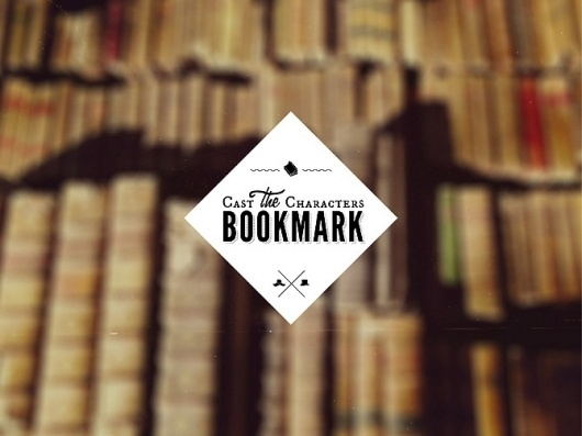 Cast the Characters Bookmark - WRMSNFCTD | Creative Contagion #logo