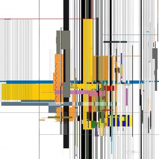 Strip 2 #vector #lines #color #geometric #strip #illustration #art #energy #strip2