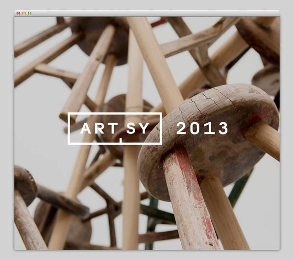 Artsy 2013 #website #layout #design #web