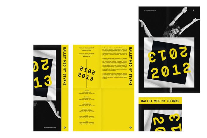 Leaflet #brochure #ballet #leaflet #typography