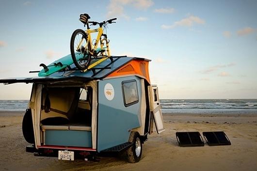 Cricket Pop-Up Trailer | Hi Consumption #beach #car #trailer