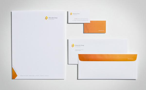 The Advocator Group AG Identity #design #identity