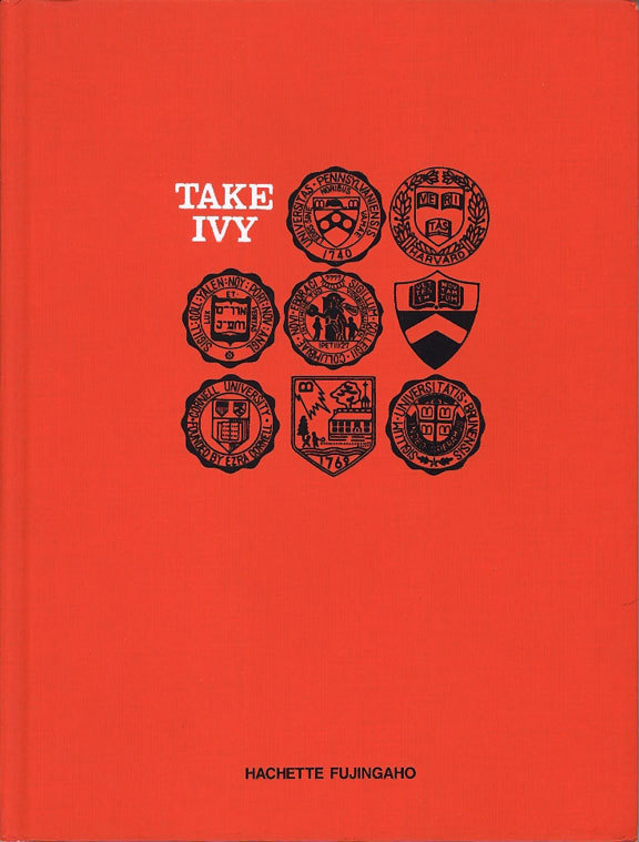 Take Ivy Book cover #book #crest #cover #seal #logo #editorial