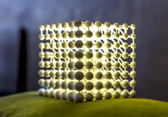 3D Printed Cubic Light by Mariam Ayvazyan - lights, lamp, lighting #design, #lighting