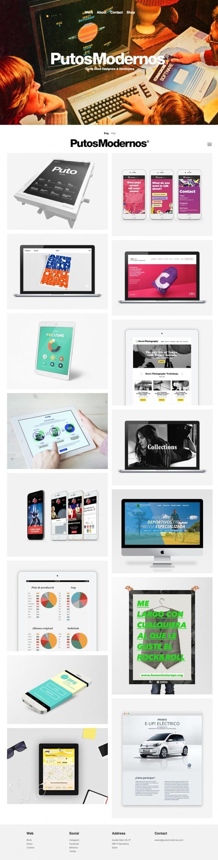 Putos Modernos - Mindsparkle Mag - Putos Modernos is a Barcelona based techno-creative, retro-futuristic design and programming studio that