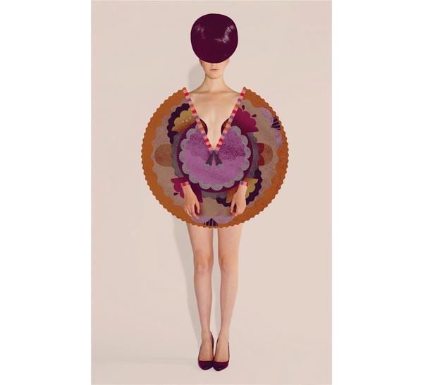 Paper doll / Lotta Nieminen #illustration #texture