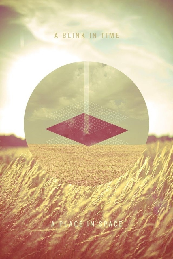 ... #field #pattern #design #vintage #poster #circle