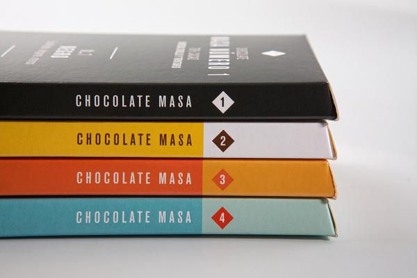 Masa Chocolate #packaging #chocolate #typography