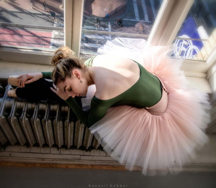 Awesome Portraits of Ballet Dancers by Randall Hobbet