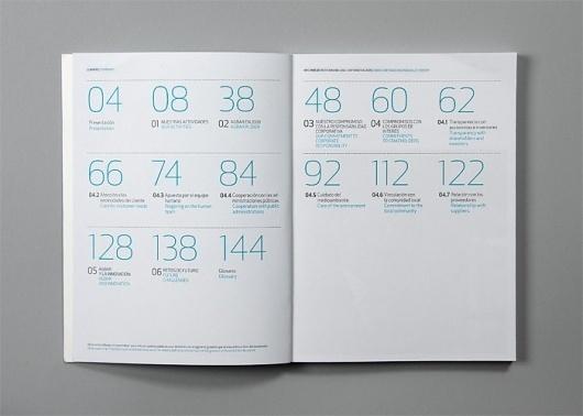 cla-se / Claret Serrahima #spain #agbar #irc #annual #barcelona #report #numbers #blue #clase #editorial #typographym