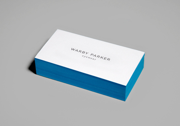 Warby Parker Business Cards, designed by High Tide NYC #creative #business #card #warby #parker #stationery #nyc #tide #high