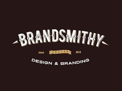 Dribbble - Brandsmithy Logo by Oleg Olashin #oldschool #vintage #branding
