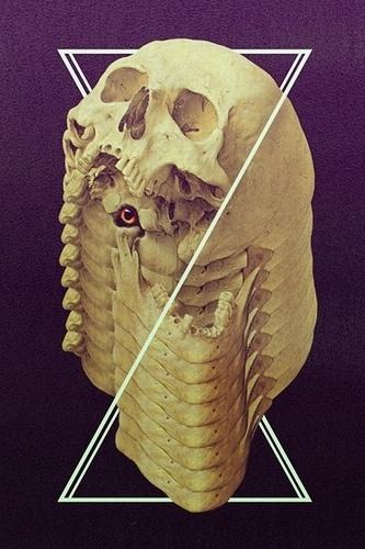 Designersgotoheaven.com - Vanitas by Erik M▲nsson - Designers Go To Heaven #skull