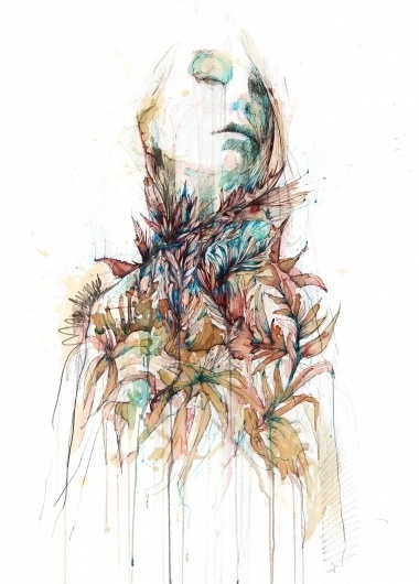 Eyestorm Online Gallery - Parassita by Carne Griffiths #painting