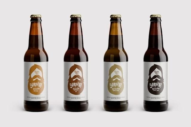 BARBIÉRE BEER #packaging #beer