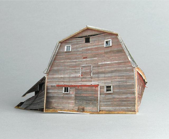 brokenhouses-23 #sculpture #house #art #broken #miniature