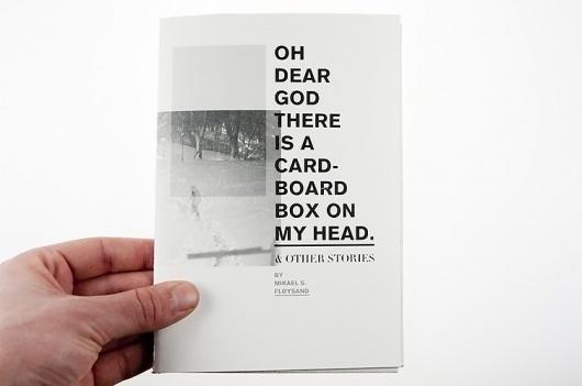 –Oh dear God–fanzine : Mikael Fløysand #design #awesome