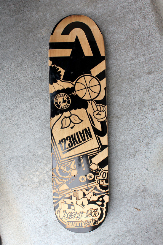 ENGRAVED BOARDS FOR AGAINST THE GRAIN SHOW on the Behance Network #skateboard