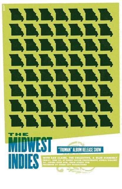 Garrett DeRossett   Work #derossett #gig #design #missouri #garrett #show #poster #midwest #indies #typography
