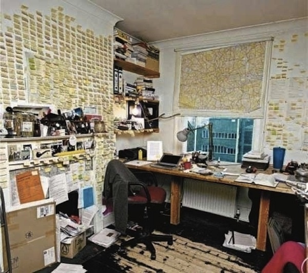 The Inspiring Workspaces Of Pablo Picasso, Ray Eames #interior #post #office #space #writing #desk #its #work
