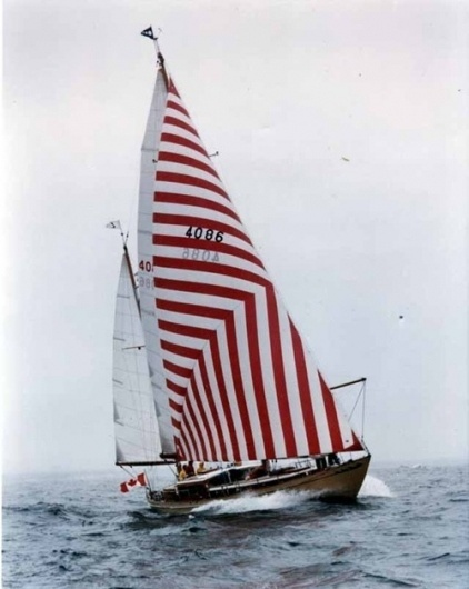 convoy #sailboat #ocean #red #stripes #ship #boat