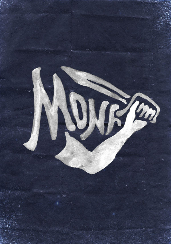 Montres MONA on Behance #type #design #bmd #logo