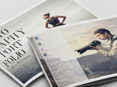 Best Photography Portfolio Http Graphicriver Net Images On - Photography portfolio template