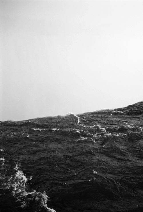 The Sea - Waves #ocean #white #black #photography #sea #and #waves