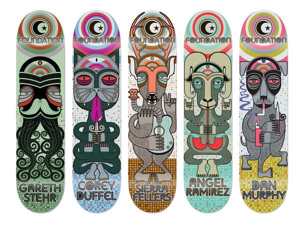 Skateboarding by Anthony Yankovic III at Coroflot.com #skateboard #yankovic