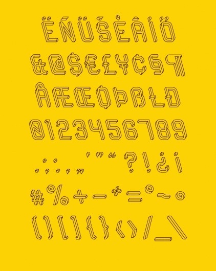 The Impossible Typeface › Illusion – The Most Amazing Creations in Art, Photography, Design, and Video. #type