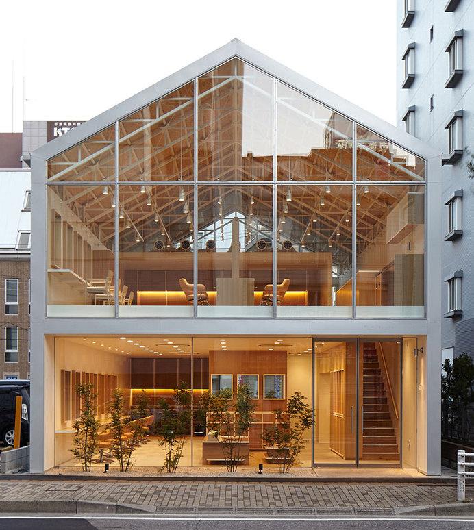 Hair Do by Ryo Matsui Architects #hair #minimalist #salon