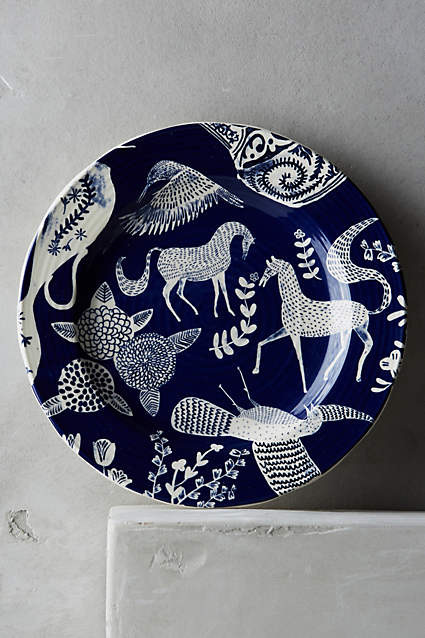 Saga Side Plate, Anthropologie