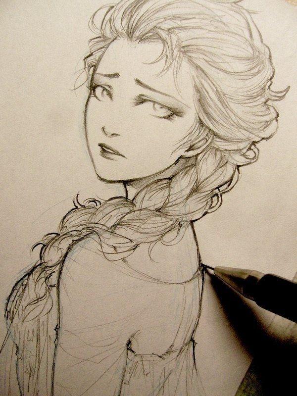 55 Beautiful Anime Drawings #beautiful #drawings #anime
