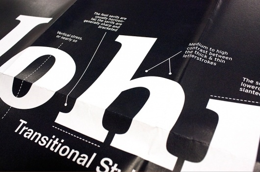 Laia Sacares. It's All About Type Poster Series #typography