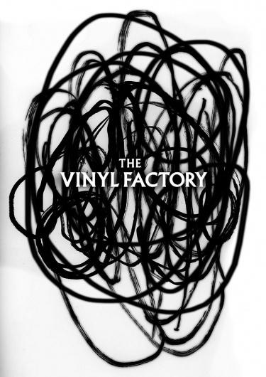 The Vinyl Factory by Tom Darracott #poster #identity #branding