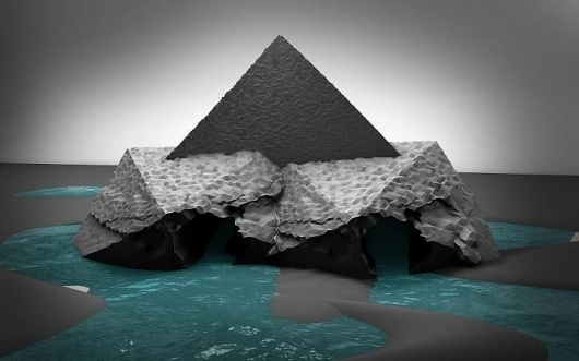 Wall Photos #render #digital #sculpture #3d