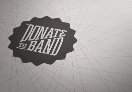 Donate To Band | The Design Ark #identity #logo #band #to #donate