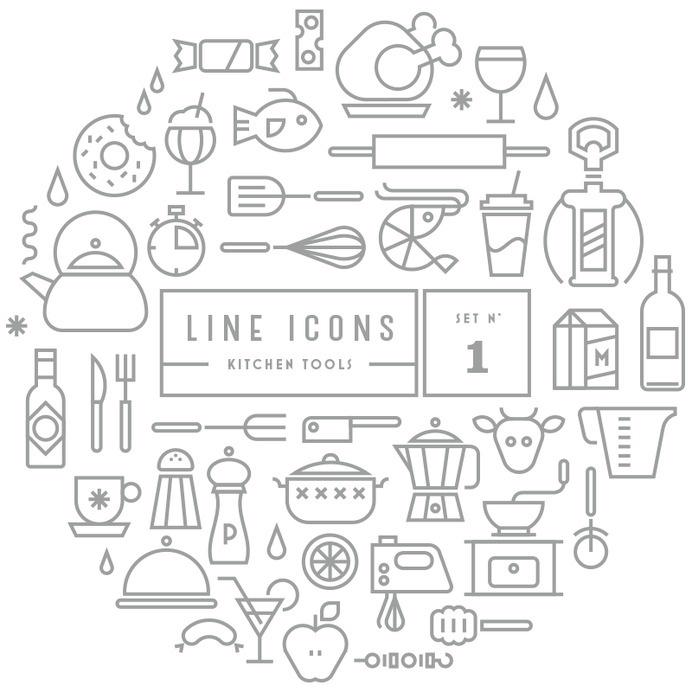 Line Icons   GRAVUAL   Grafisch bureau   Grafische vormgeving   Antwerpen #icon #line