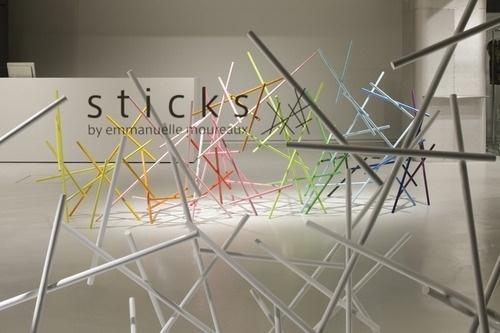 COULEUR COUTURE #issey #moureaux #emmanuelle #color #miyaki #sticks