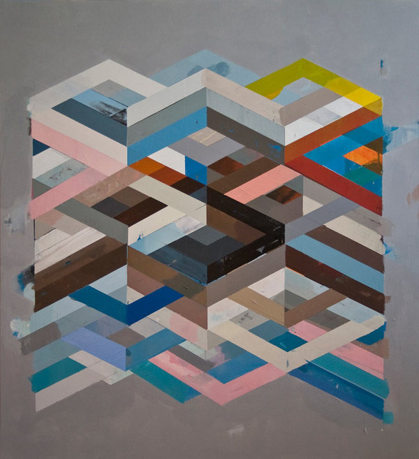 ABSTRACT PAINTINGS BY JEFF DEPNER #paintings