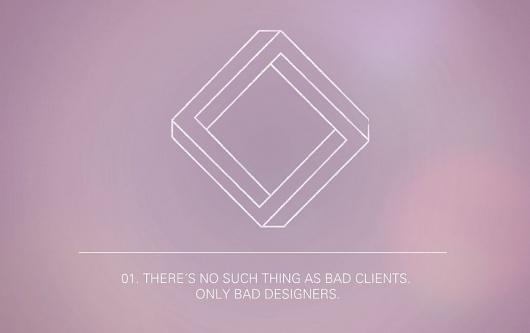 12 paradoxes of graphic design - Tobias Bergdahl #minimalist
